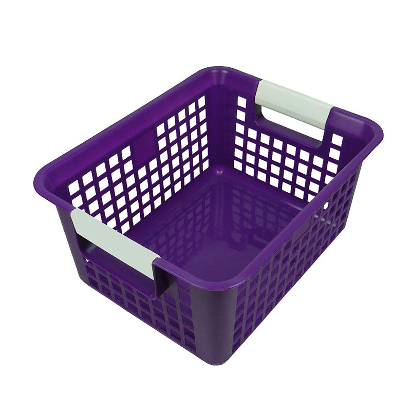 Book Basket, Purple
