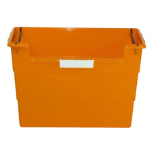 Desk Top Organizer, Orange