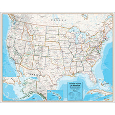 Contemporary Series United States Map