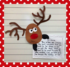 Reindeer Games - 6 Bulletin Boards for Christmas!