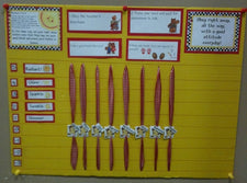 Star Students Behavior Tracker Bulletin Board & Wall Display