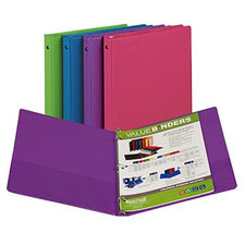 Fashion Color Binder, 1/2 Inch