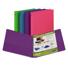 Fashion Color Binder, 1 Inch