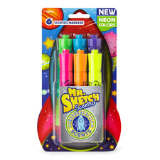 Mr. Sketch Scented Neon Markers, 6 Count