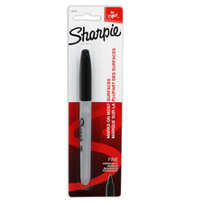 Sharpie Fine Black Carded
