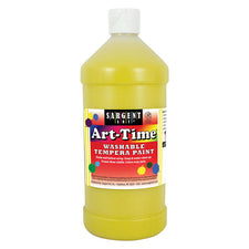 Sargent Art ® Washable Tempera Paint, 32 Oz. Yellow