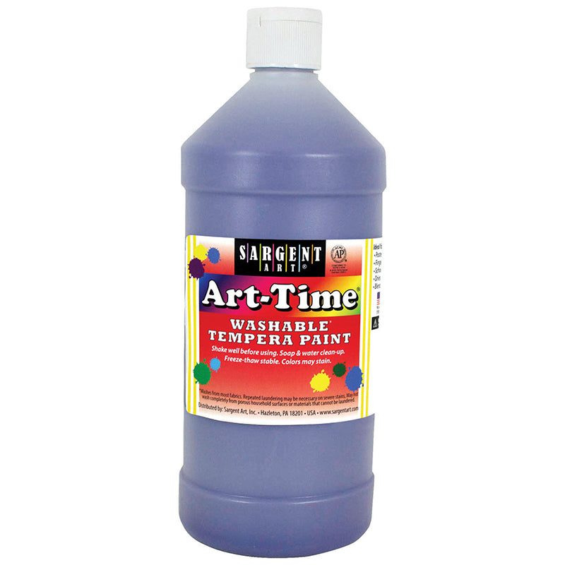 Sargent Art ® Washable Tempera Paint, 32 Oz. Violet