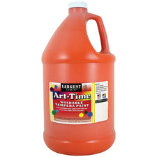 Sargent Art ® Washable Tempera Paint, 1 Gallon Orange