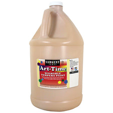 Sargent Art ® Washable Tempera Paint, 1 Gallon Peach