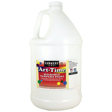 Sargent Art ® Washable Tempera Paint, 1 Gallon White