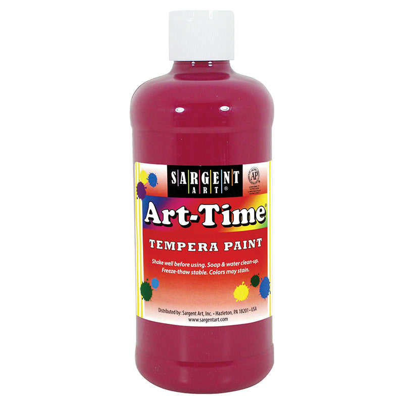 Sargent Art ® Tempera Paint, 16 Oz. Magenta