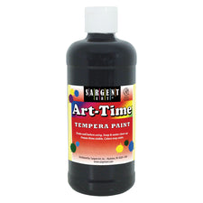 Sargent Art ® Tempera Paint, 16 Oz. Black