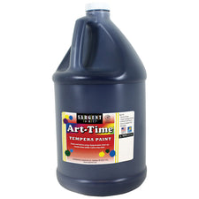 Sargent Art ® Tempera Paint, 1 Gallon Black