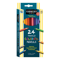 Triangle Colored Pencils, 24 Count