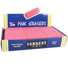 Pink Eraser Best Buy Pack, 36 Count