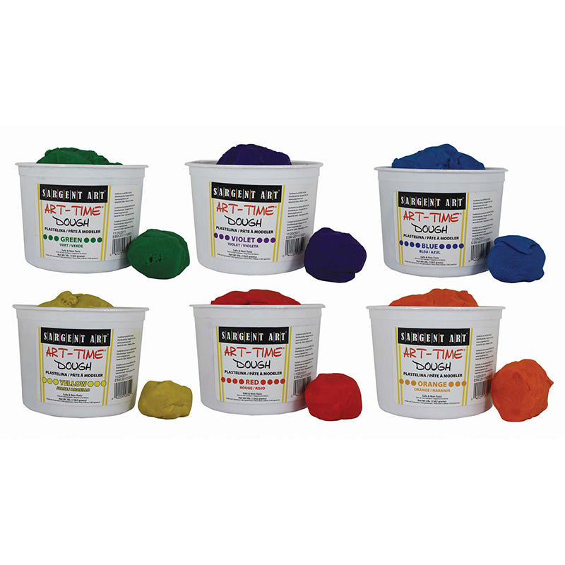 Sargent Art Art-Time® Assorted Dough
