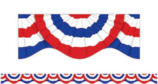 Patriotic Bunting Scalloped Trimmers