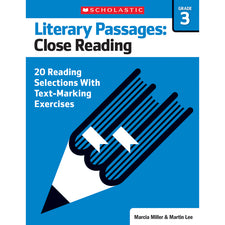 Literary Passages: Close Reading, Grade 3