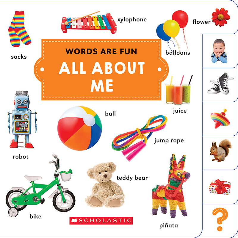 Words Are Fun: All About Me