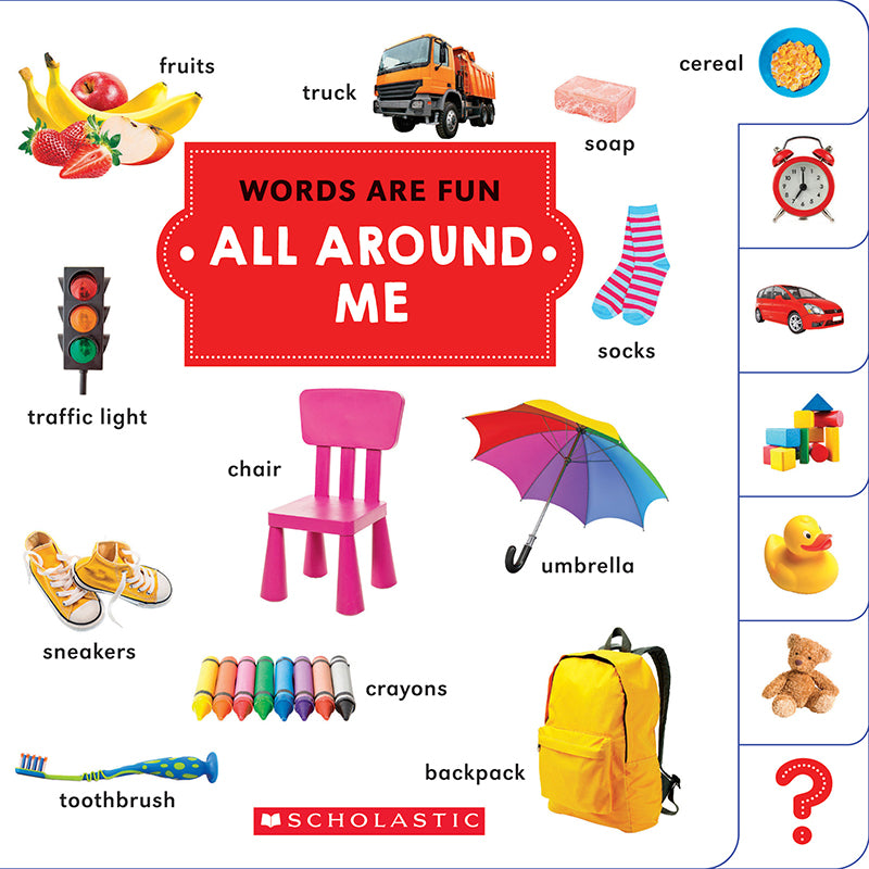 Words Are Fun: All Around Me