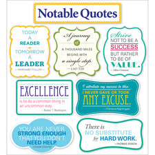 Notable Quotes Bulletin Board Set