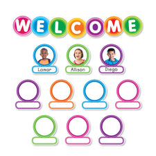 Color Your Classroom: Welcome Bulletin Board Set