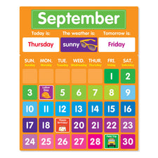Color Your Classroom: Calendar Bulletin Board Set