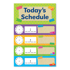 Tape It Up! Schedule Mini Bulletin Board Set