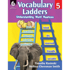 Vocabulary Ladders: Understanding Word Nuances, Grade 5