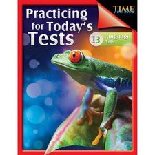 TIME For Kids: Practicing for Today's Tests, 3rd Grade Language Arts