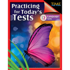 TIME For Kids: Practicing for Today's Tests, 2nd Grade Language Arts