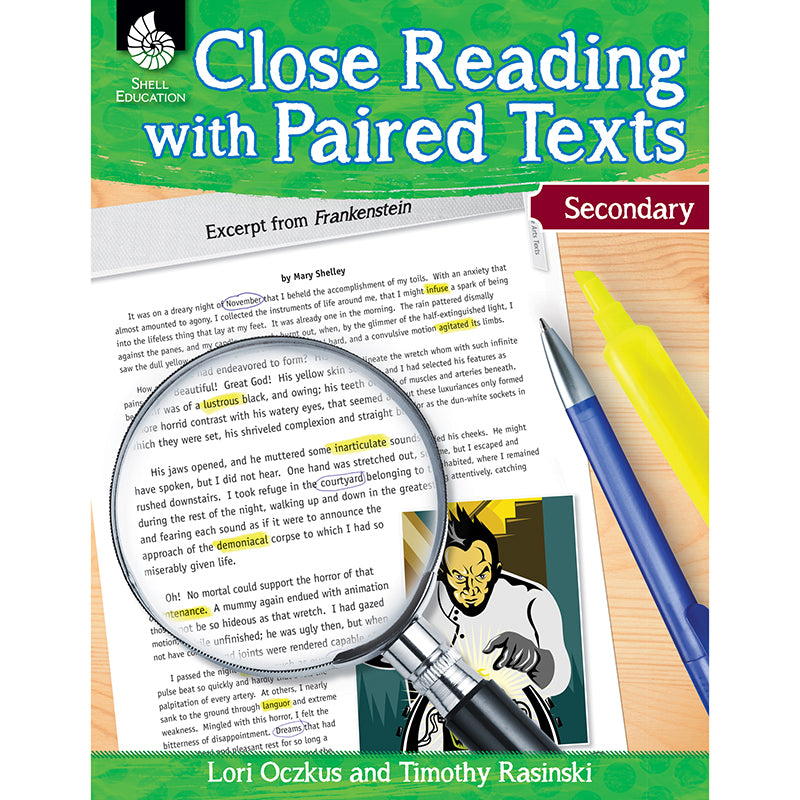 Close Reading with Paired Texts, Secondary