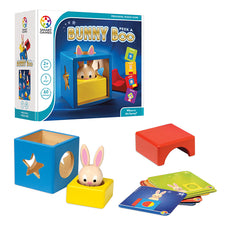 Smart Games Bunny Peek A Boo Preschool Puzzle Game