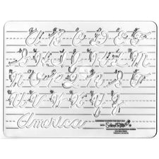 Template Cursive Uppercase 1 Letters