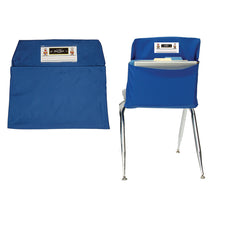 Blue Seat Sack, Small 12 Inch Chair Storage Pocket
