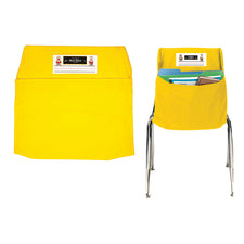 Yellow Seat Sack, Small 12 Inch Chair Storage Pocket