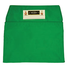 Green Seat Sack, Standard Size 14 Inch Chair Storage Pocket