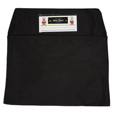 Black Seat Sack, Medium Size 15 Inch Chair Storage Pocket