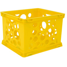 Mini Crate, Yellow