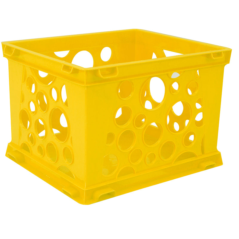 Micro Crate, Yellow