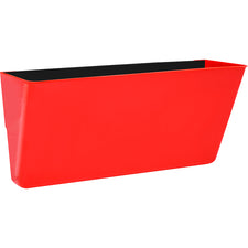 Letter Size Magnetic Wall Pocket, Red