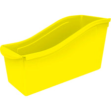 Large Book Bin, Yellow