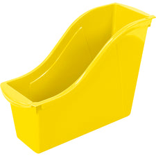 Small Book Bin, Yellow