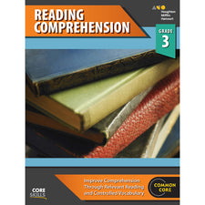 Core Skills: Reading Comprehension Workbook, Grade 3