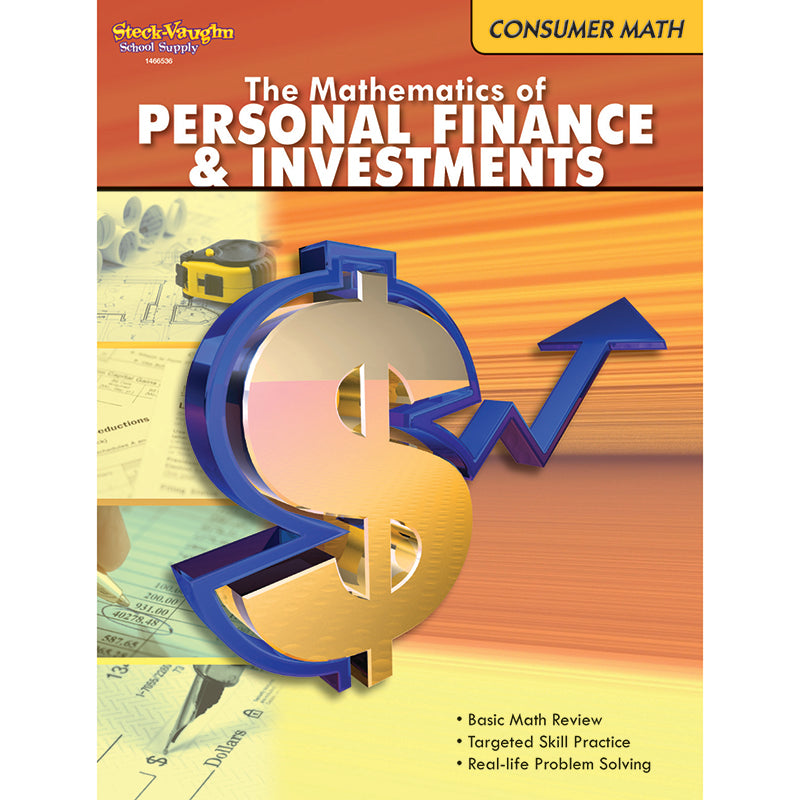 The Mathematics Of Personal Finance And Investments Gr 6 & Up