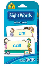 School Zone Publishing Beginning Sight Words Flash Cards