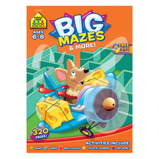 Big Mazes & More Workbook