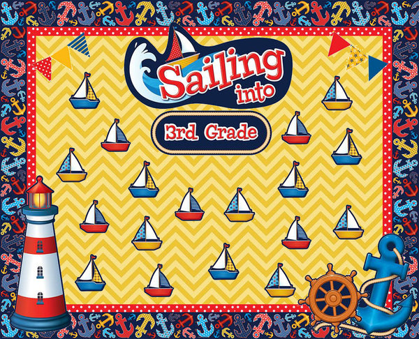 Quot Sailing Into Third Grade Quot Nautical Themed Welcome
