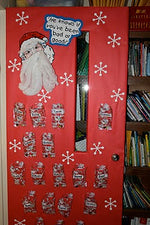 Santa Classroom Helpers & Positive Behavior Management Board