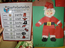 Christmas Math Game: Shopping for Santa's Suit